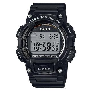 【CASIO】行家配備10年電力數位碼錶(W-736H-1A)