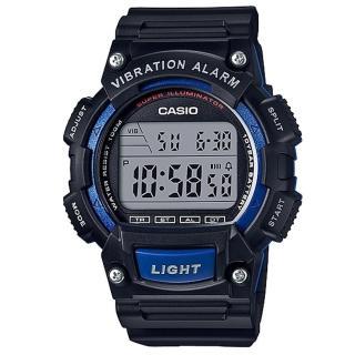 【CASIO】行家配備10年電力數位碼錶(W-736H-2A)