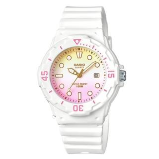 【CASIO】雙色漸層運動潛水風格腕錶(LRW-200H-4E2)