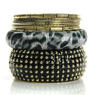 【Lady c.c.】優雅刺蝟輕龐混搭多層次手環