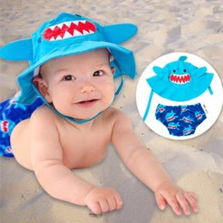 【美國ZOOCCHiNi】可愛動物泳裝套組(鯊魚)