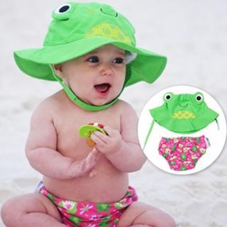 【美國ZOOCCHiNi】可愛動物泳裝套組(青蛙)
