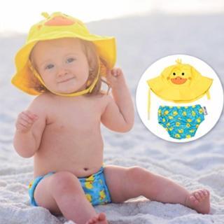 【美國ZOOCCHiNi】可愛動物泳裝套組(小鴨)
