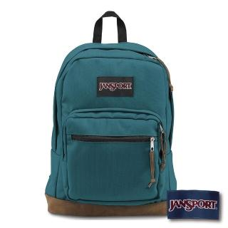 【JANSPORT】校園後背包RIGHT PACK系列(海盜藍)