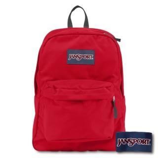 【JANSPORT】SUPERBREAK系列後背包(紅 JS-43501)