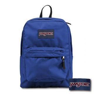 【JANSPORT】SUPERBREAK系列後背包(風暴藍 JS-43501)