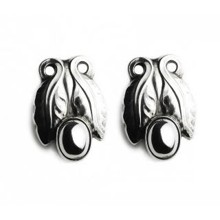 【Georg Jensen】#108 純銀夾式耳環