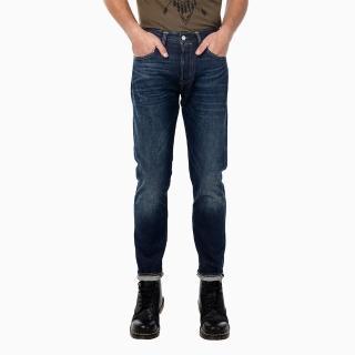 【Levis】501CT 男款排扣直筒丹寧牛仔褲-經典藍