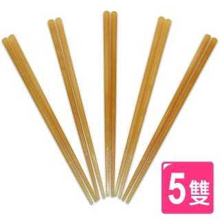 【AXIS】JESMA米糠環保筷_5雙(琥珀色)