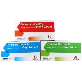 【遠漢】PVC無粉檢驗手套 100入/盒 S、M、L 3種SIZE可選(衛署醫器陸輸壹字第001820號)