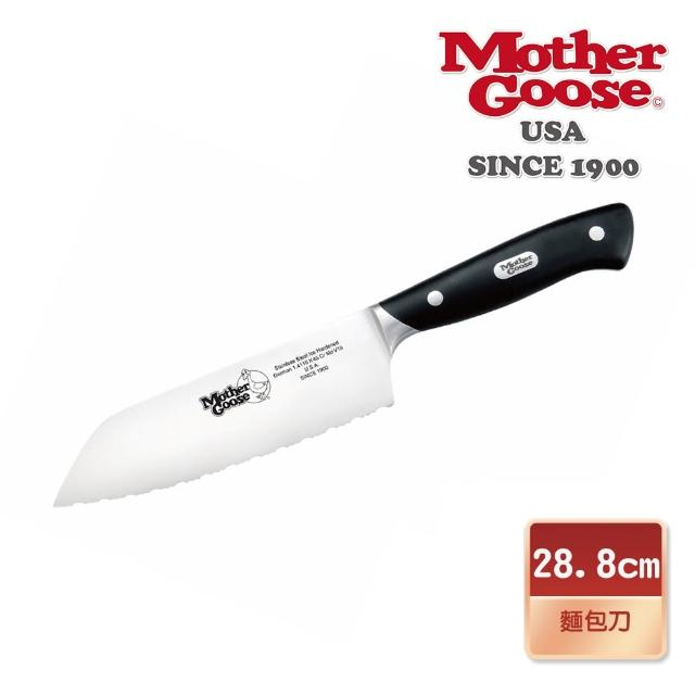 【美國鵝媽媽 Mother Goose】鉬釩鋼 冷凍/麵包刀(6.5吋)