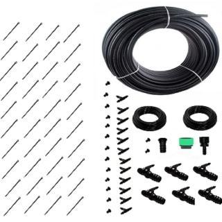 【灑水達人】16mm PE管10公尺與2分單邊多孔深層滲透PE管套裝組合