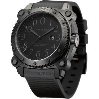 【Hamilton】漢米爾頓 KHAKI NAVY卡其海軍1000米潛水機械腕錶(H78585333)   HAMILTON 漢米爾頓