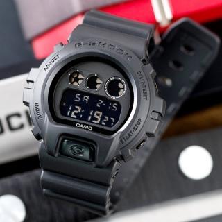 【G-SHOCK】超人氣潮流電子錶-消光黑(DW-6900BB-1DR)