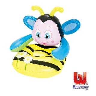 【酷博士】Bestway。Q版蜜蜂31x35x31兒童充氣沙發(75062)