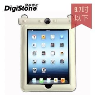 【DigiStone】iPad 9.7吋平板電腦防水袋(溫度計型白色x1P)