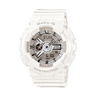 【CASIO】BABY-G/潮流尖端雙顯運動腕錶(46mm/BA-110-7A3DR)