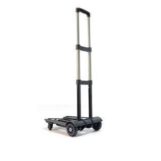 【PUSH!旅遊用品】行李車 拉桿車 手拉車 折疊購物車(四輪驅動後輪360度轉向版S38)