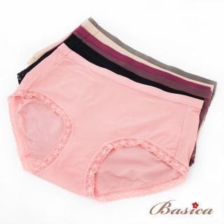 【蓓氏嘉】麗薇雅中腰內褲三件組 L-XL no.2270(隨機取色)