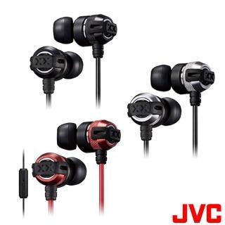 【JVC】HA-FX33XM 美國極限重低音升級版入耳式耳機(附麥克風)