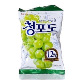 【Lotte】青葡萄糖