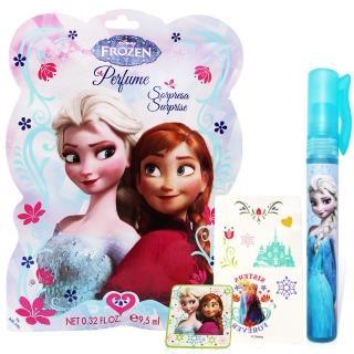 【Disney】Frozen 冰雪奇緣香氛驚喜包(淡香水9.5ml+書籤+紋身貼紙)