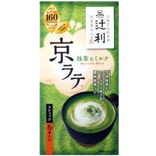 【片岡物產】京拿鐵抹茶牛奶粉(5本入)