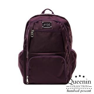 【DF Queenin】小資系休閒尼龍後背包(共2色)
