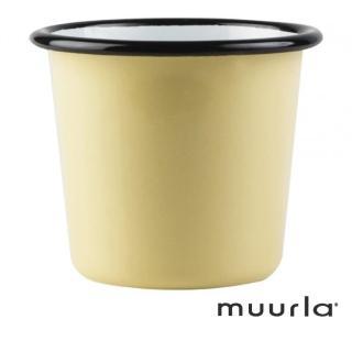 【芬蘭Muurla】基本黃琺瑯杯-200ml(muurla 琺瑯杯)