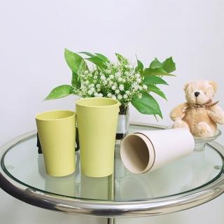 【樸生活】小麥環保簡約浴室漱口杯360ML(買一送一)