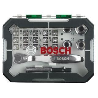 【BOSCH】26件式棘輪起子頭組