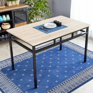 【H&D】諾拉工業風個性鐵架餐桌