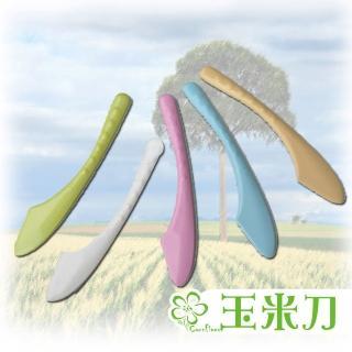 【Cornflower玉米花】浪漫花草玉米餐具-玉米刀(5入)