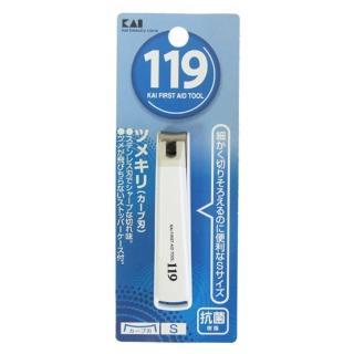 【日本KAI】貝印119指甲剪-S×3入