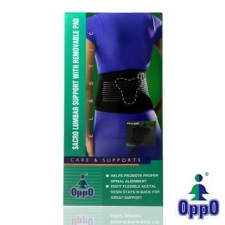 【美國OPPO】集中支撐T型墊片護腰帶#2167(1只/盒)