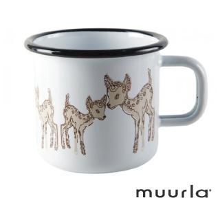 【芬蘭Muurla】小鹿琺瑯馬克杯-370ml(muurla 琺瑯杯 咖啡杯)