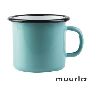 【芬蘭Muurla】琺瑯馬克杯-土耳其藍250ml(muurla 琺瑯杯 咖啡杯)