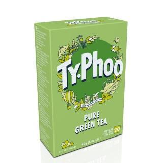 【Typhoo】綠茶2gx20入-裸包(綠茶)