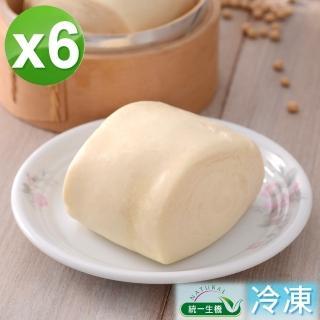 【統一生機】老麵豆漿饅頭6件組(400g/包/共6包)