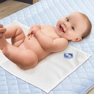【dreamer STYLE】防水抗菌緹花透氣保潔墊(平單式嬰兒床60x120)