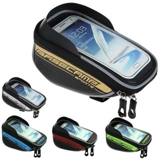 【BASECAMP】腳踏車 手機觸控包 適用 5.5吋以下 手機 自行車 車前包(螢幕直接觸控!! 隨身物品收納)