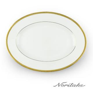【NORITAKE】文藝復興金邊骨磁西式橢圓盤(31.1cm)