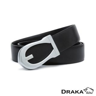 【DRAKA 達卡】紳士皮帶(41DK881-8364)