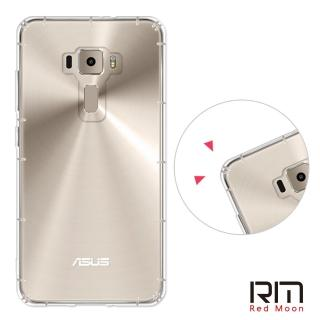 【RedMoon】ASUS ZenFone3 5.5吋 防摔氣墊透明TPU手機軟殼(ZE552KL)