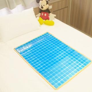 【Seraphic】冰涼Q彈果凍凝膠床墊/座墊(雙面冷暖兩用)