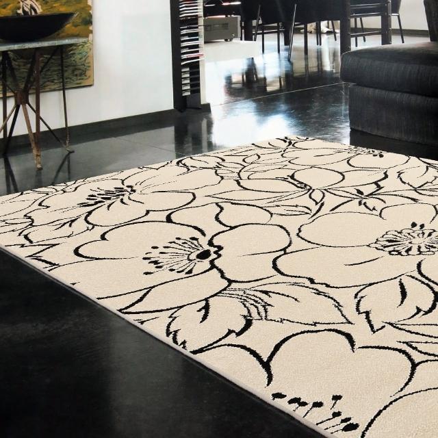 【Ambience】比利時infinity地毯- 朵麗黑(160x230cm)