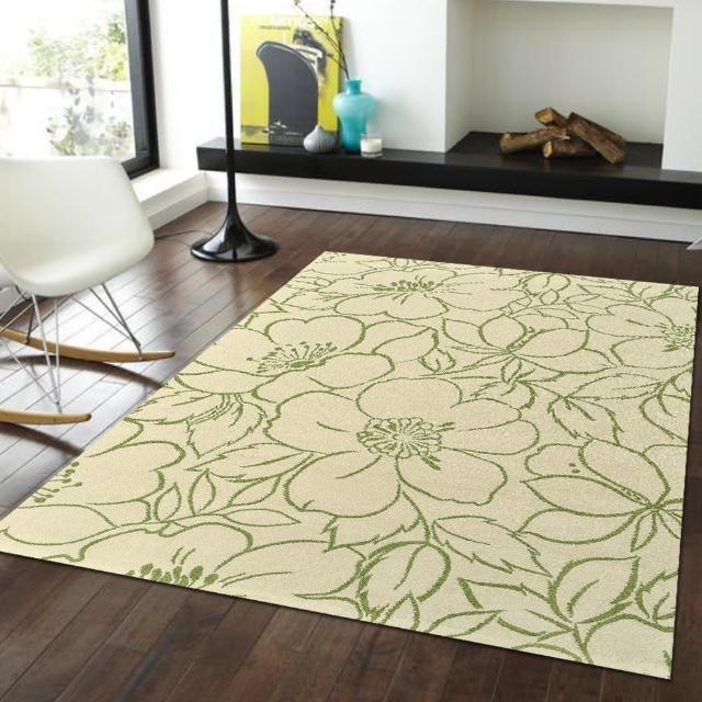 【Ambience】比利時infinity地毯- 朵麗綠(160x230cm)