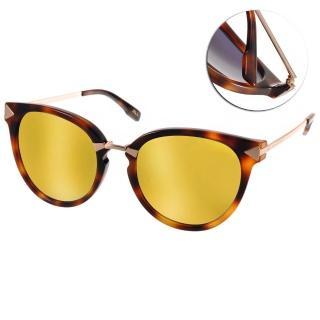 【JILL STUART  太陽眼鏡】水銀鏡面微貓眼款(琥珀#JB20013 C02)