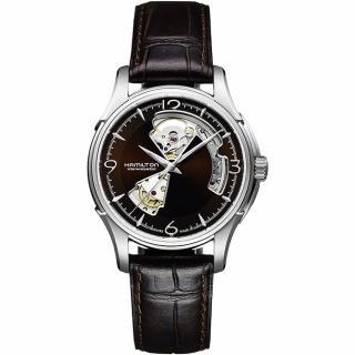 【Hamilton】JAZZMASTER 鏤空機械腕錶(H32565595)  HAMILTON 漢米爾頓
