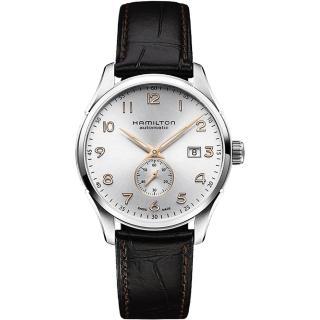 【Hamilton】漢米爾頓 JAZZMASTER 小秒針機械腕錶(H42515555)